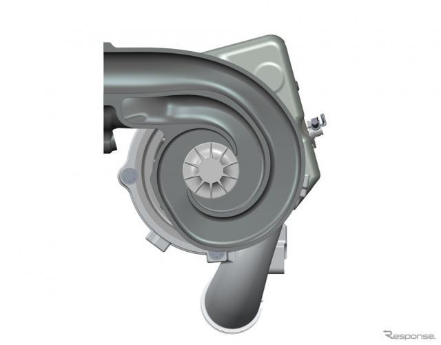 ボルグワーナーが開発した新型ターボチャージャー