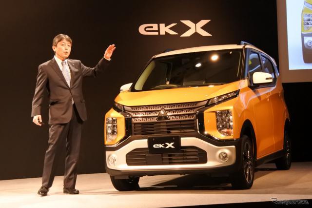 三菱自動車 eKワゴン・eKクロス 発表会《撮影 小松哲也》