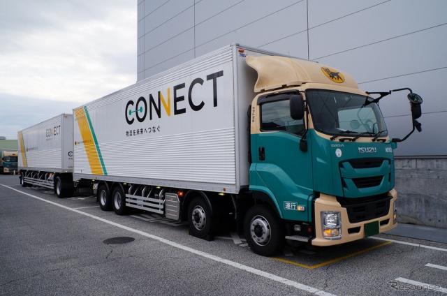 25m級ダブル連結トラック