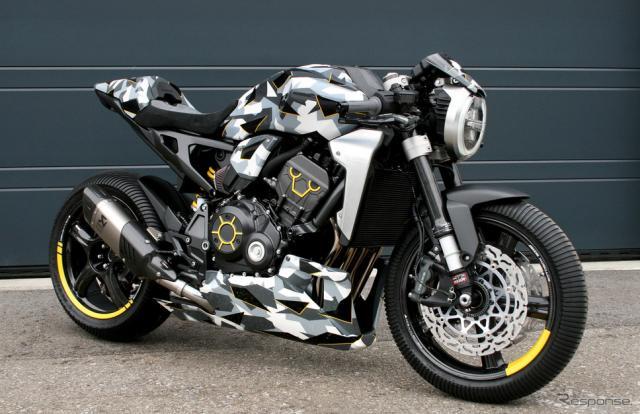 ホンダ・スイスが開催したカスタムコンテストで優勝した「HONDA CB1000R-adical」《画像提供 Fuhrer/Gannet》