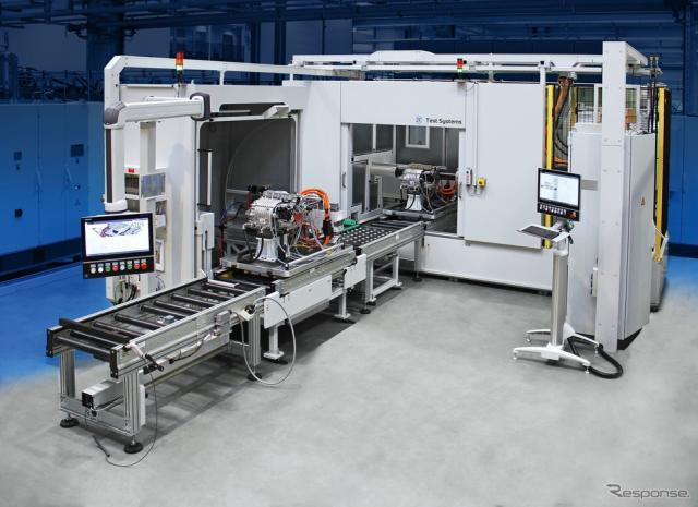ZFの電動パワートレイン用の新開発テストシステム