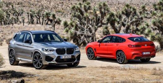 BMW X3 と X4 新型、最強「M」は510馬力…上海モーターショー2019で発表へ