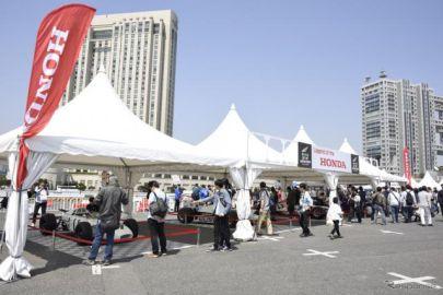 レジェンド展示はホンダの歴代マシン勢ぞろい…モータースポーツジャパン2019