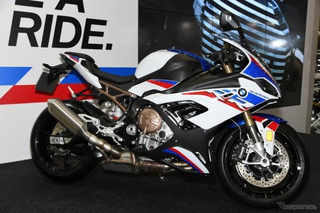 BMW S1000RR 新型(東京モーターサイクルショー2019)《撮影 安藤貴史》