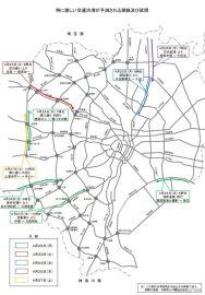 都内一般道、渋滞のピークはGW前の4月24日午前中…環八内回りや世田谷通り上りなど