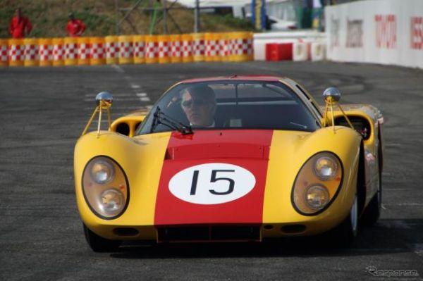 1960年代に活躍したダイハツ「P-5」がサプライズデモラン…モータースポーツジャパン2019