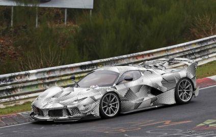 フェラーリ FXX Kエボ、公道仕様が発売!? 謎の開発車両の正体とは