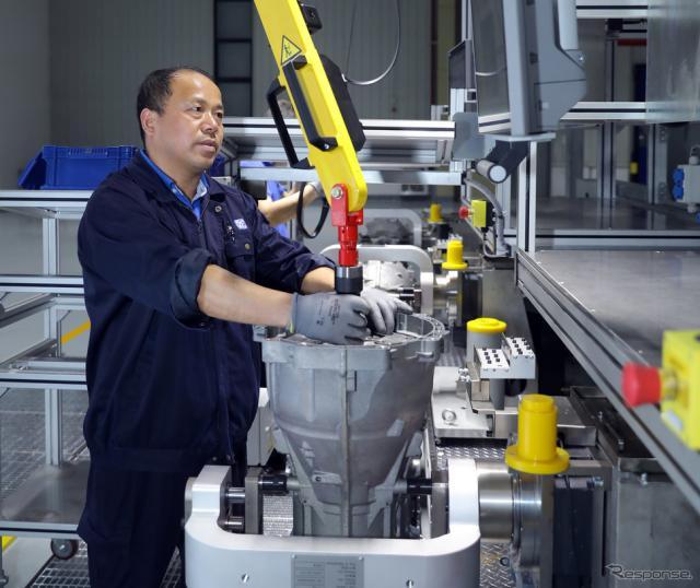 ZFの中国上海工場