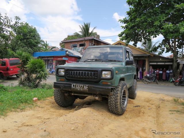ダイハツ タフト。インドネシアではトヨタ ブリザードとして販売