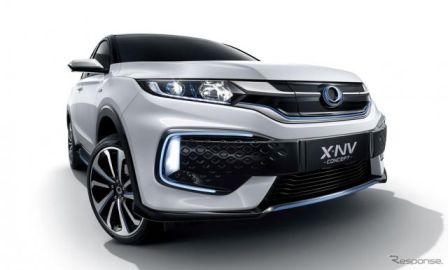 ホンダが ヴェゼル ベースのEVコンセプト発表、2019年後半に市販へ…上海モーターショー2019