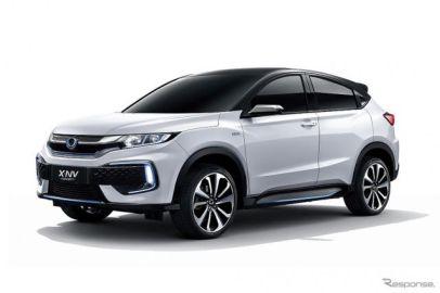 ホンダ、中国専用EVの第2弾『X-NVコンセプト』を世界初公開...上海モーターショー2019