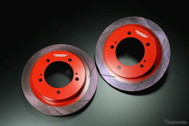 モンスタースポーツ ブレーキディスクローター(新型ジムニー用)