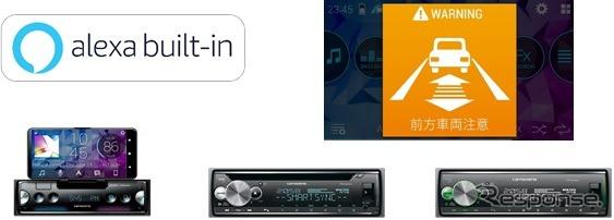 カーオーディオとスマートフォンをリンクさせる「スマートフォンリンク」(イメージ)