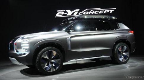 三菱 e-Yiコンセプト、次世代の電動SUV発表…上海モーターショー2019
