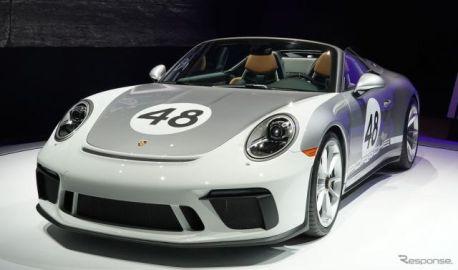 ポルシェ 911スピードスター の市販モデル、9年ぶりに復活…ニューヨークモーターショー2019