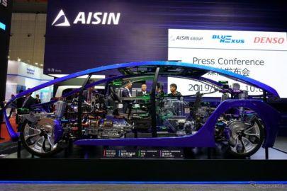 アイシンは長年培った幅広いノウハウ活かし、Eモビリティに注力…上海モーターショー2019