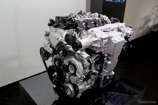 マツダの次世代エンジン SKYACTIV-X(参考画像)