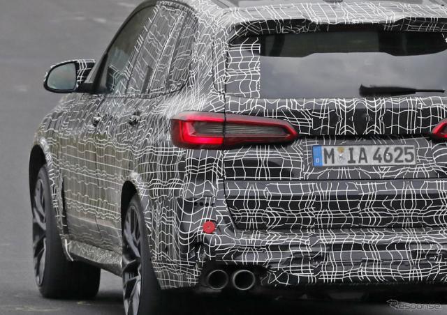 BMW X5M 新型スクープ写真《APOLLO NEWS SERVICE》