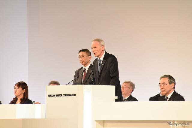 日産自動車の臨時株主総会(4月8日)