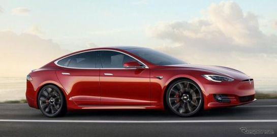 テスラ モデル S と モデル X 、航続10%延長で最大595kmに…改良モデルを米国発表