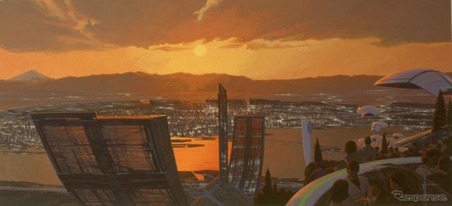 TOKYO 2040(C)Syd Mead Inc.