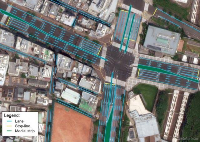 自動運転車向けの高精度地図