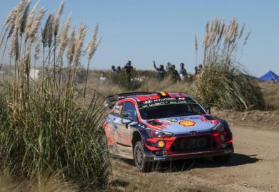 【WRC 第5戦】南米2連戦の緒戦アルゼンチンでヒュンダイが今季初の1-2フィニッシュ…トヨタ最上位はミークの4位