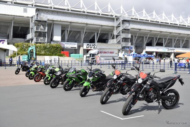 国際レーシングコース大試乗会(BIKE! BIKE! BIKE! 2019)《撮影 雪岡直樹》