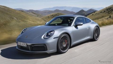 ポルシェ 911 新型、富士スピードウェイで日本国内初披露 6月15-16日