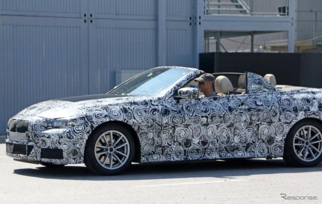 BMW 4シリーズカブリオレ スクープ写真《APOLLO NEWS SERVICE》