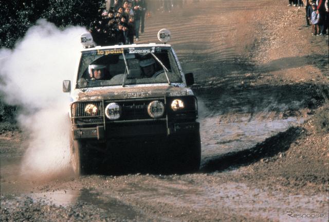 1983年:初参戦、市販車無改造クラス優勝