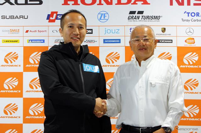 SUPER GT にスポーンサー契約したジョウズ・ジャパン(第2戦富士スピードウェイ)《撮影 大野雅人(Gazin Airlines)》