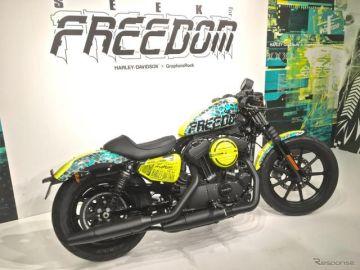 テクノとハーレーの融合…グラファーズロックがデザインした「アイアン1200」に自由を見た