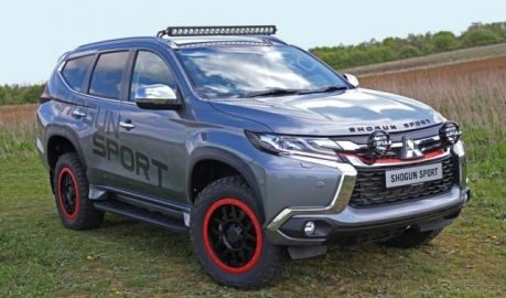 三菱 パジェロスポーツ 新型、全天候型オフロード仕様を提案