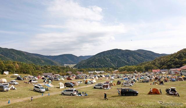 滋賀県「マキノ高原キャンプ場」