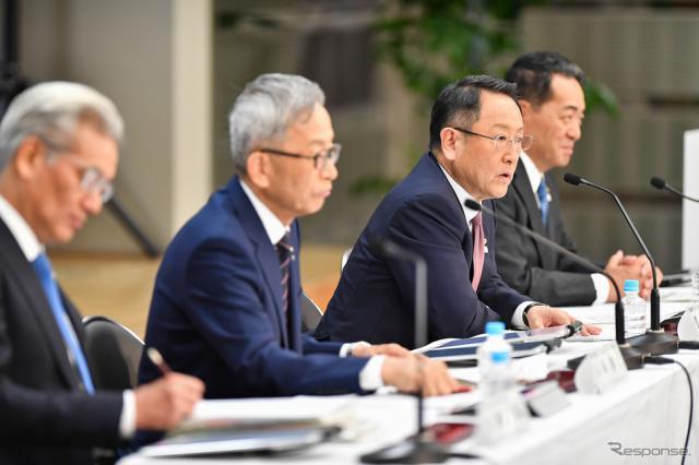 トヨタ自動車 決算説明会(5月8日)