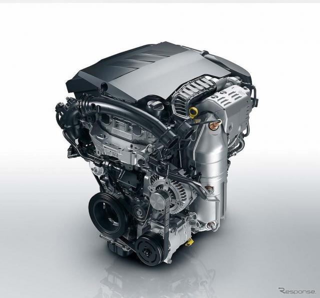 3気筒1.2リットルガソリンエンジン