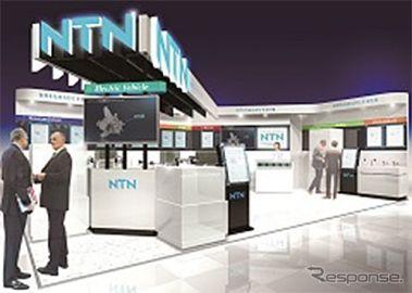 NTN、低燃費化や電動化に貢献する各種商品を展示予定…人とくるまのテクノロジー2019