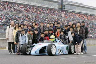 中学生が組み立てたEVフォーミュラカー、復活に向け支援募集 日本EVクラブ