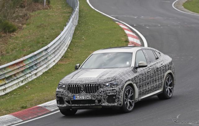 BMW X6 スクープ写真《APOLLO NEWS SERVICE》