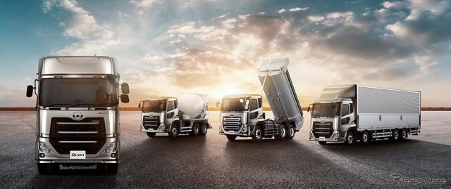 UDトラックス、8リットルエンジン搭載のクオンなど展示予定…建設・測量生産性向上展2019