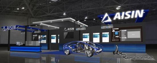 アイシングループ、エンジン冷却用電動ウォーターポンプなど紹介予定…人とくるまのテクノロジー2019