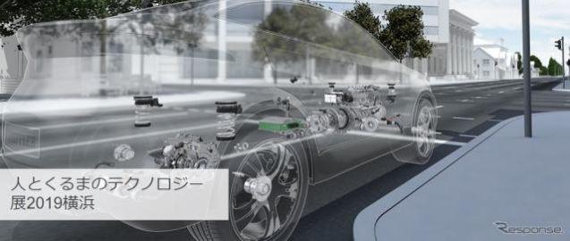 シェフラージャパン、CO2削減や電動化技術をアピール…人とくるまのテクノロジー2019