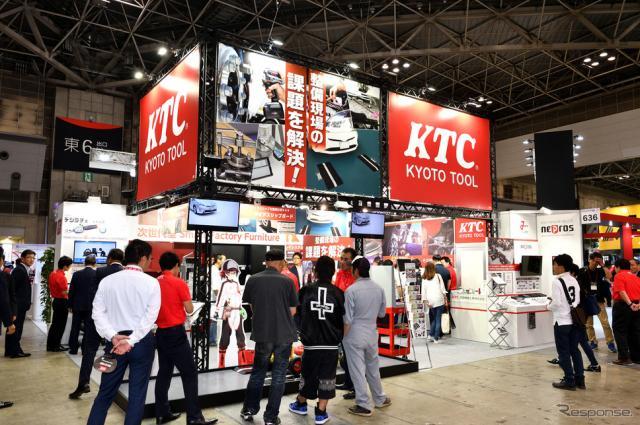 ヘッドライト光軸調整を確実&迅速にする専用工具…KTC《撮影 雪岡直樹》
