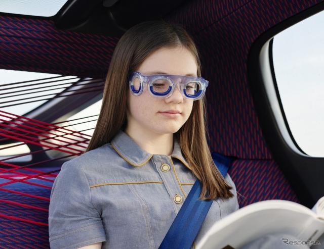 車酔いの症状を解消するメガネの新型モデル「シートロエン S19」