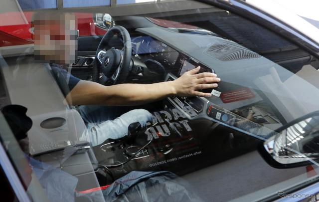 BMW M3 新型 スクープ写真 《APOLLO NEWS SERVICE》