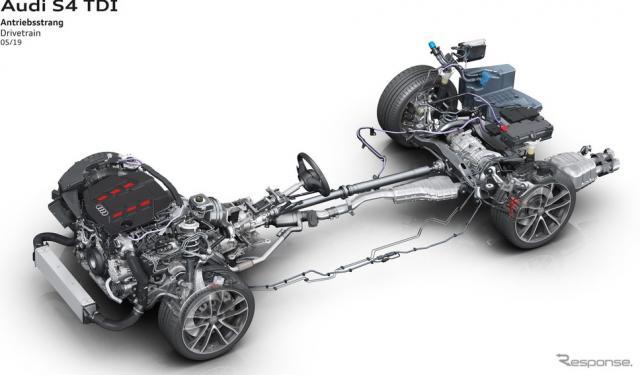 アウディ S4 TDIと S4 アバント TDI