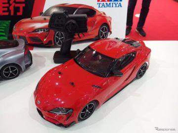 【トヨタ スープラ 新型】タミヤ電動RCカーで発売予定…まだ4台