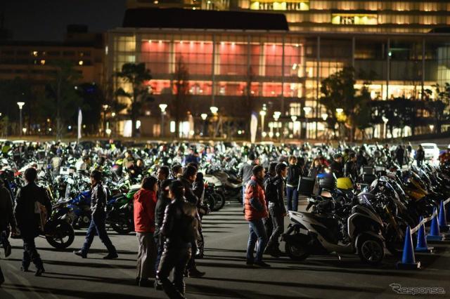 BMW Group Tokyo Bayで開催される「Night Rider Meeting」(写真は前回)《画像 BMW Motorrad》