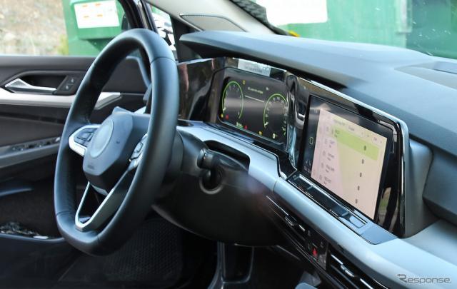 VW ゴルフ 新型 開発車両(スクープ写真)《APOLLO NEWS SERVICE》